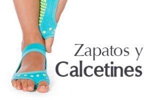 zapatos y calcetines para yoga