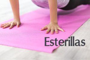 Esterillas, colchoneta y mat de yoga