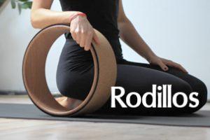 Rueda de yoga, rodillo, anillo, rollo para yoga