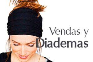 vendas para el pelo y diademas de yoga